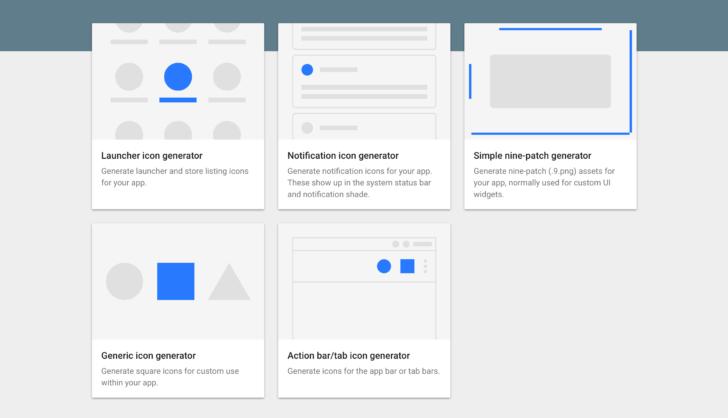 Roman Nurik's Android Asset Studio gets a dazzling visual
