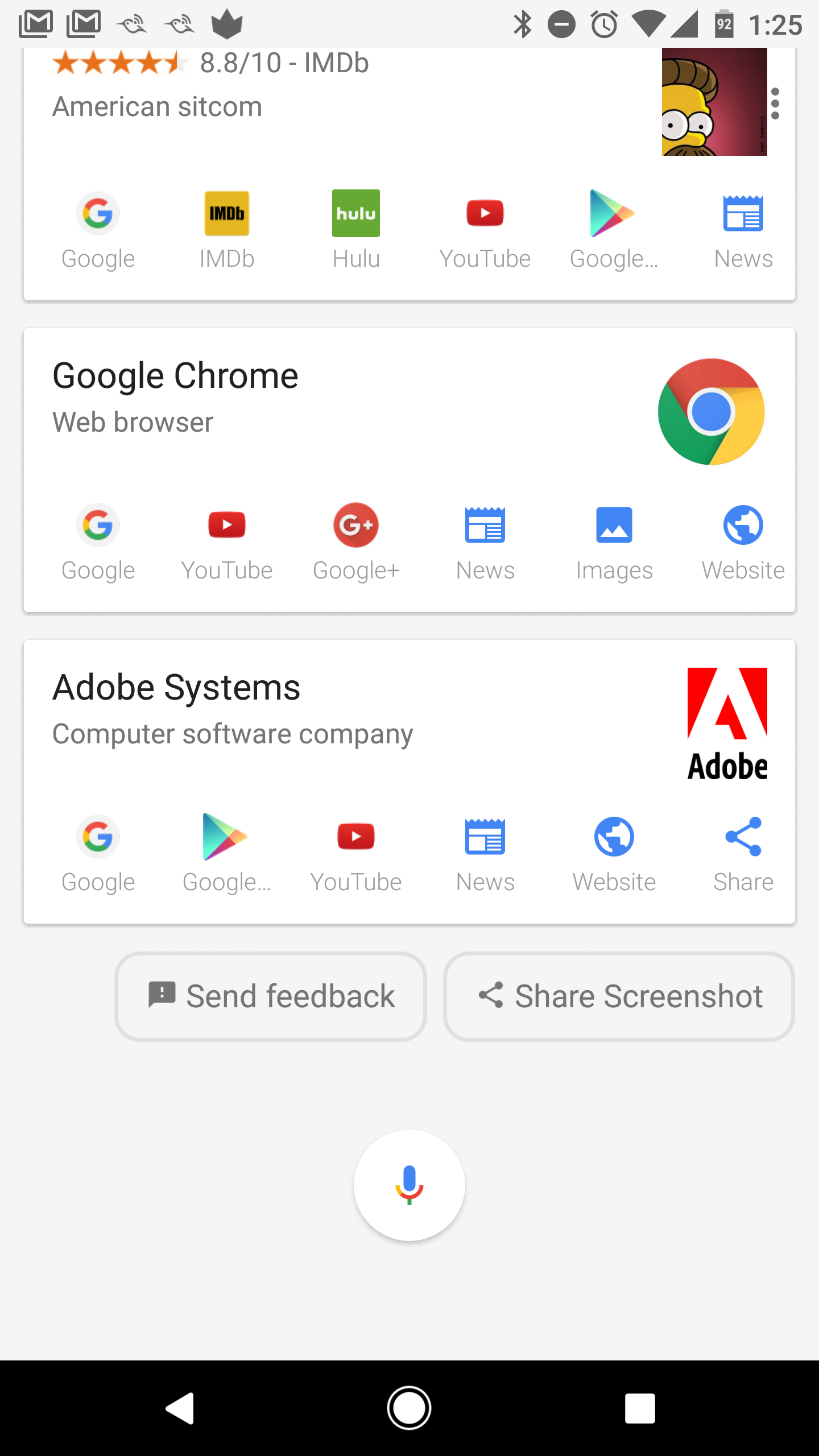 how to make google assistant search