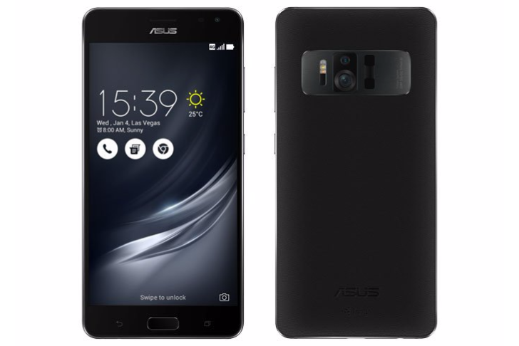 The Google Tango-enabled Asus Zenfone AR was accidently leaked by Qualcomm