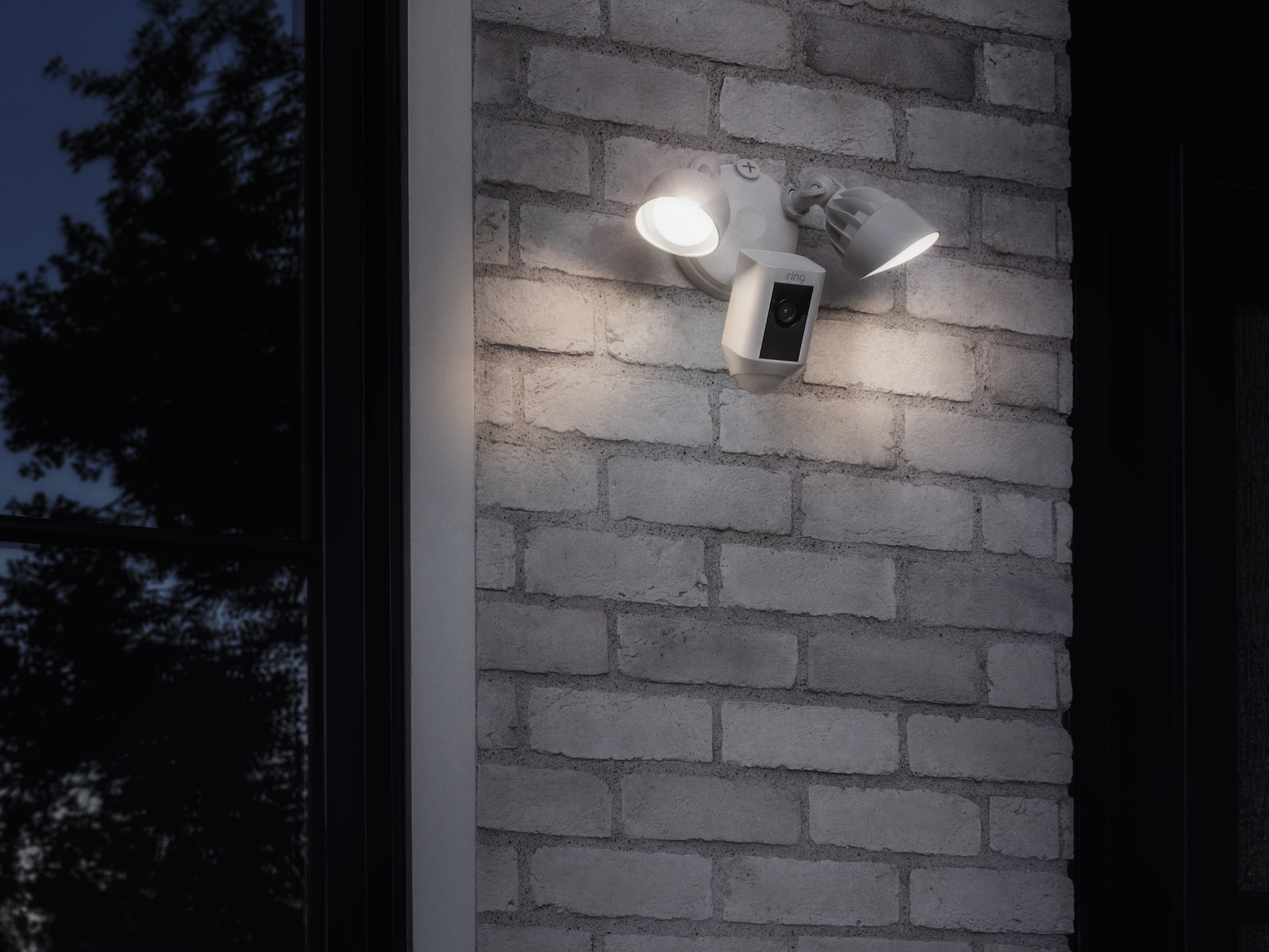 Rings Floodlight Cam Is A Security Camera With An Integrated Wiring The Self Install So No Engineers Or Ring Employees Are Required To Come Round And Rig It Up Your Wall Available