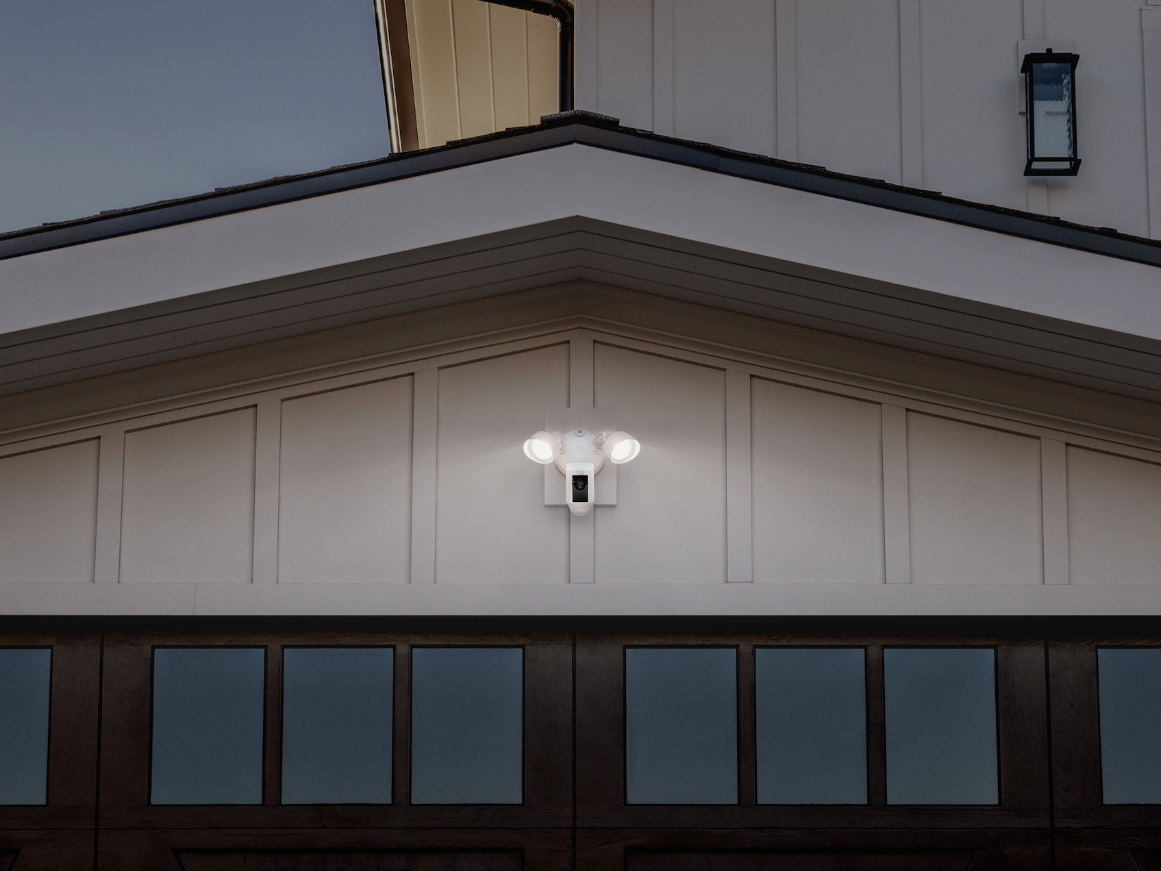 Rings floodlight cam is a security camera with an integrated users will get a push notification on their phone when the camera detects motion then the video camera will start recording and users can speak to whoever arubaitofo Choice Image