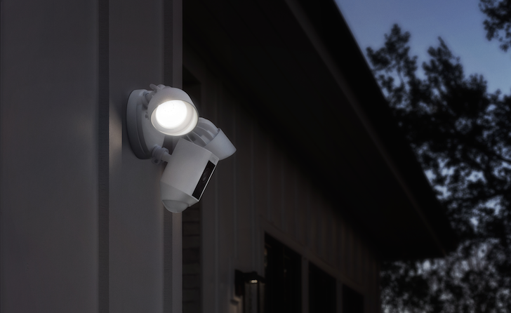 Ring creators of the video doorbell previously known as the doorbot in 2014 has a new product the floodlight cam