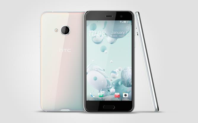 HTC U Play_3V_IceWhite