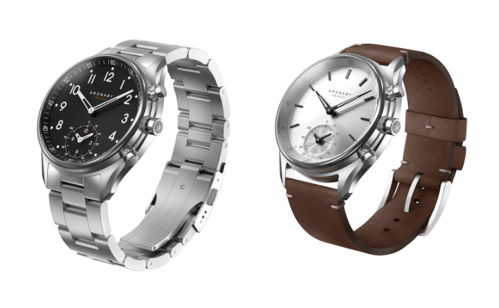 Kronaby's hybrid smartwatches can go for two years before needing a new battery