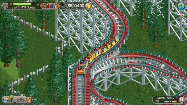 Atari re-publishes Roller Coaster Tycoon Classic after accidentally