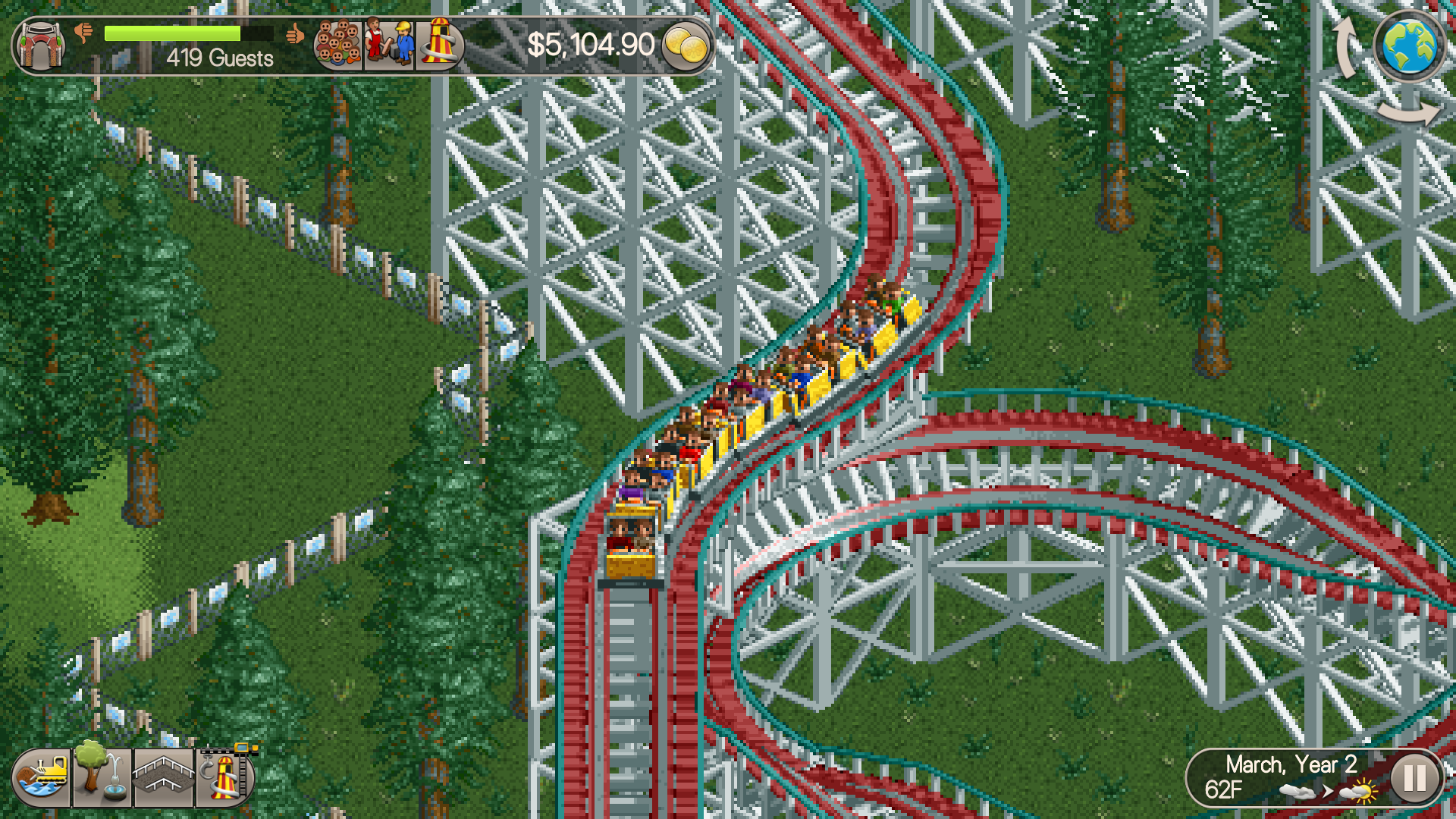 Atari re-publishes Roller Coaster Tycoon Classic after