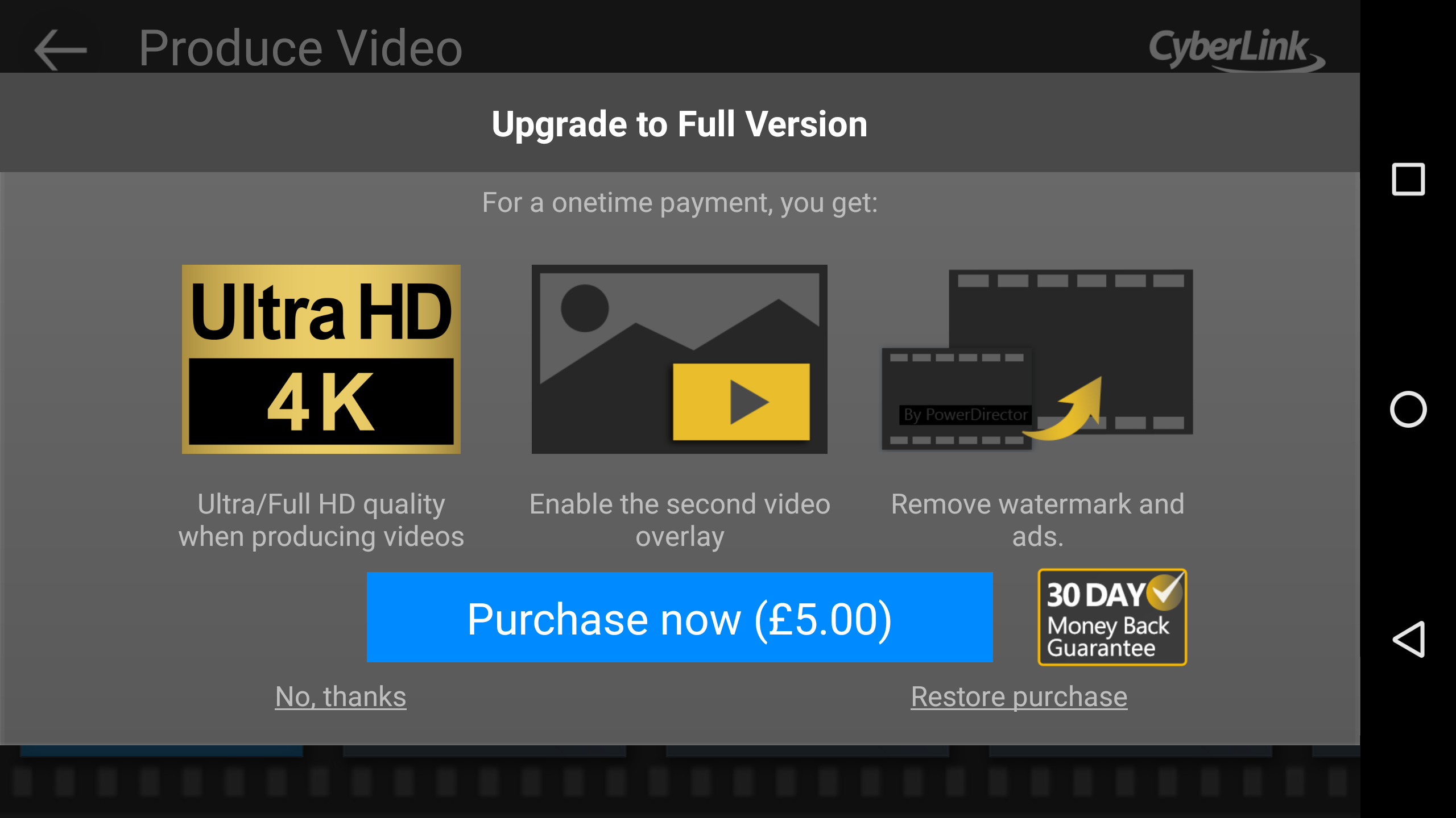 CyberLink PowerDirector now supports 4K video editing, first