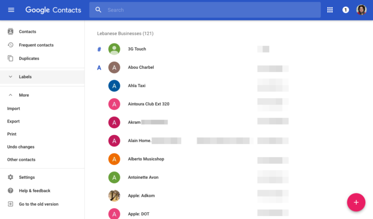 Hands-On] Google Contacts web rolls out a better looking Material ...