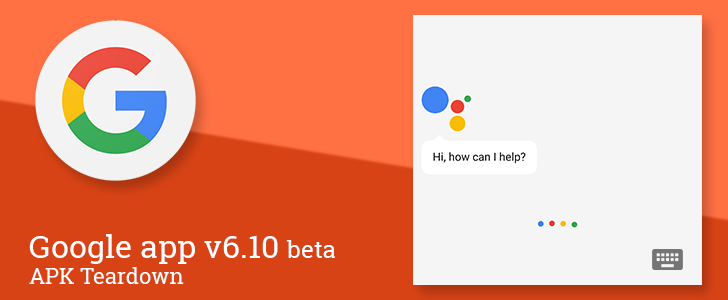 Google app v6 10 beta prepares to add a