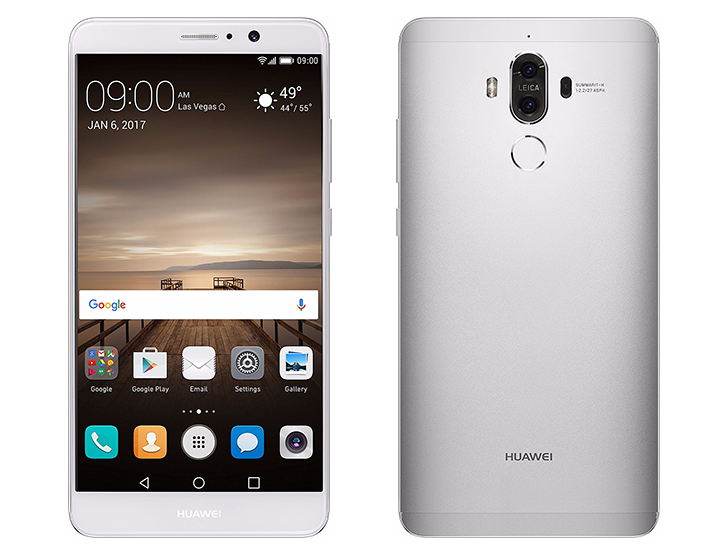 """Big 5.9"""" Huawei Mate 9 now available in the US for $599.99 ..."""
