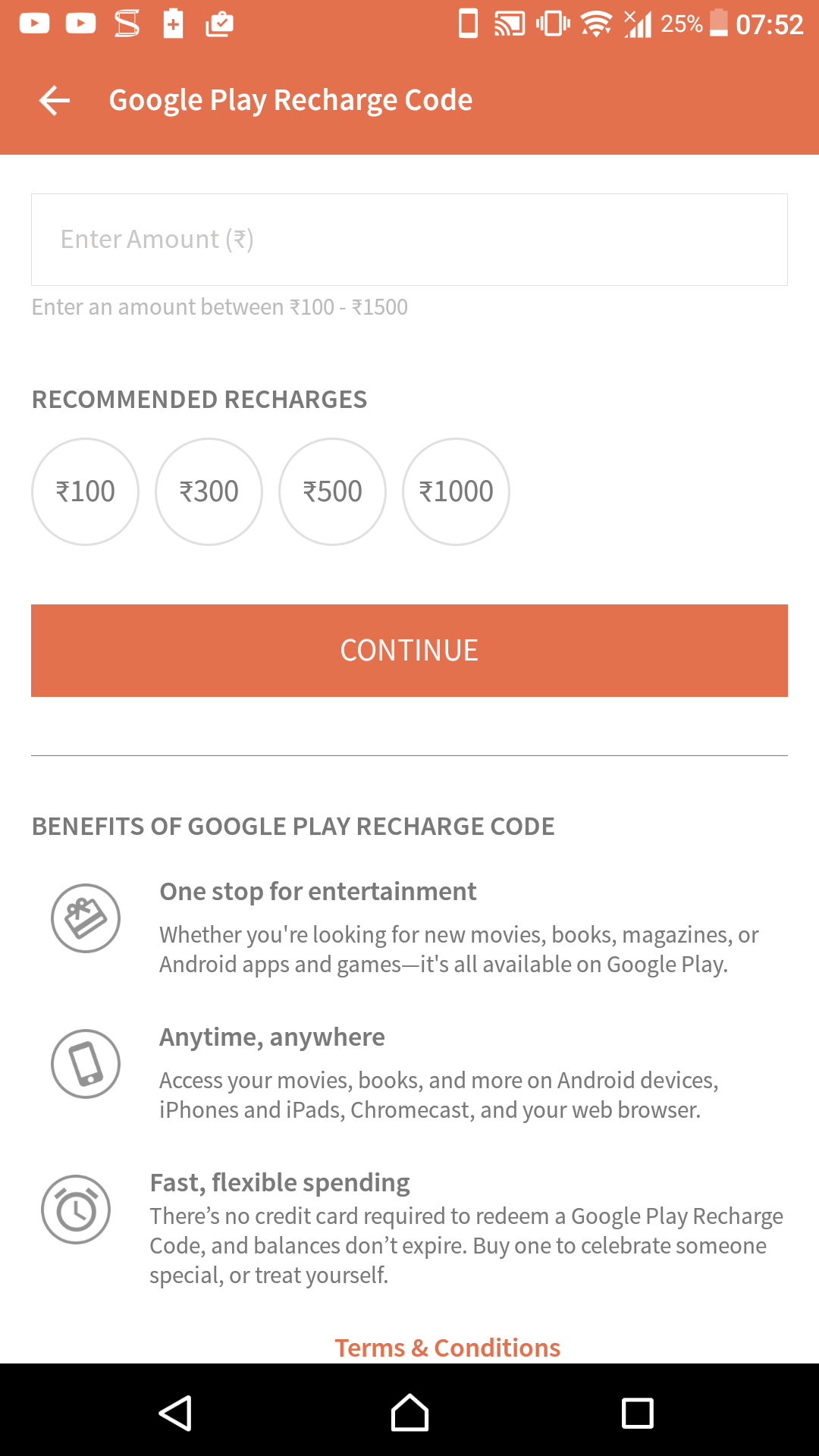 Update: FreeCharge too] Google Play credit can now be bought