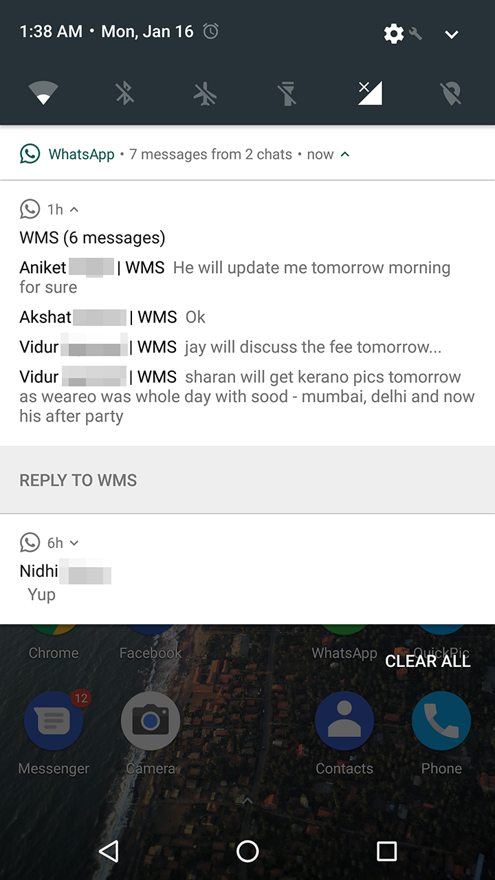 Whatsapps Notifications Now Work Properly On Android 70