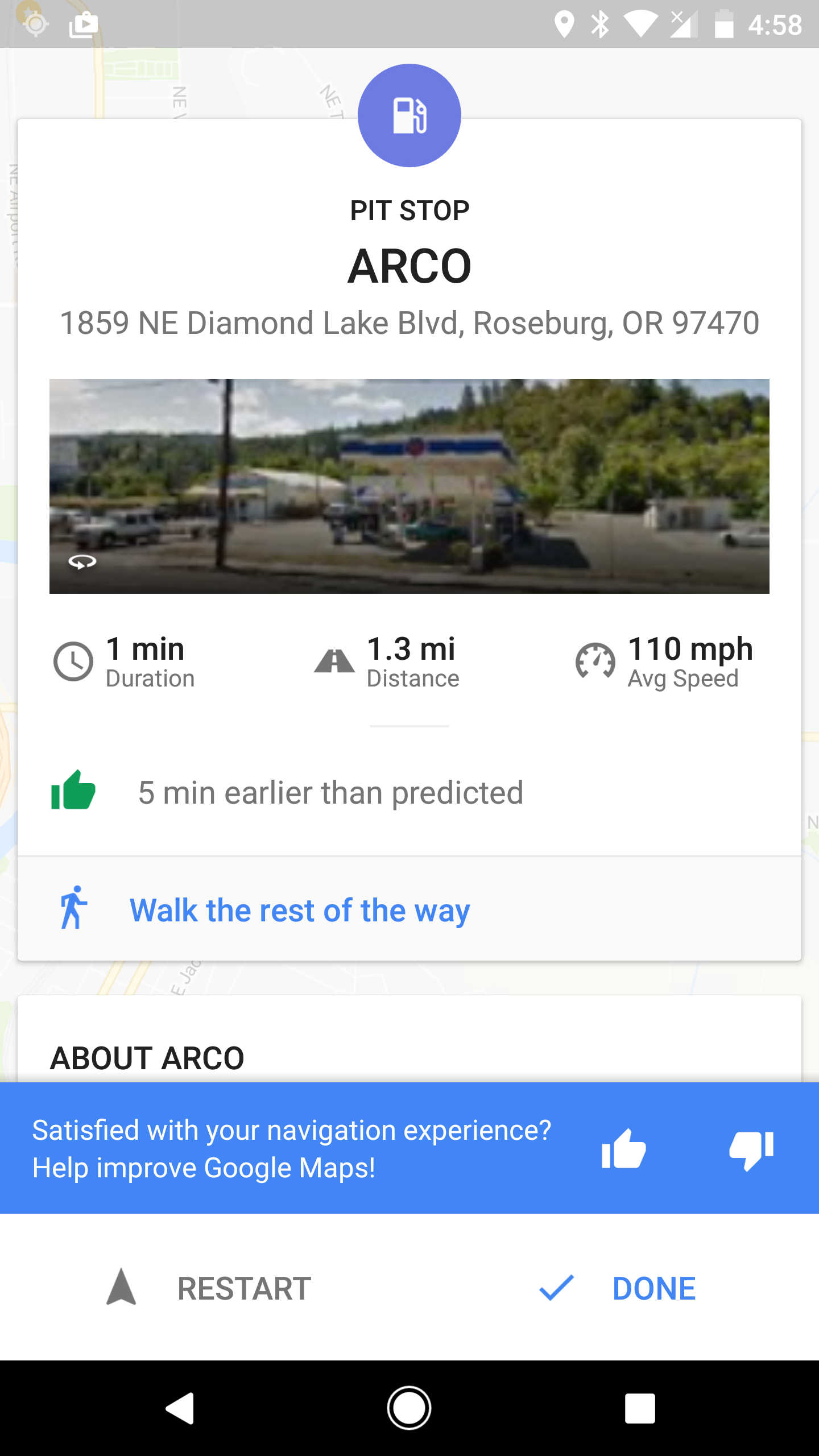 Google Maps v9 45 beta brings redesigned arrival cards and
