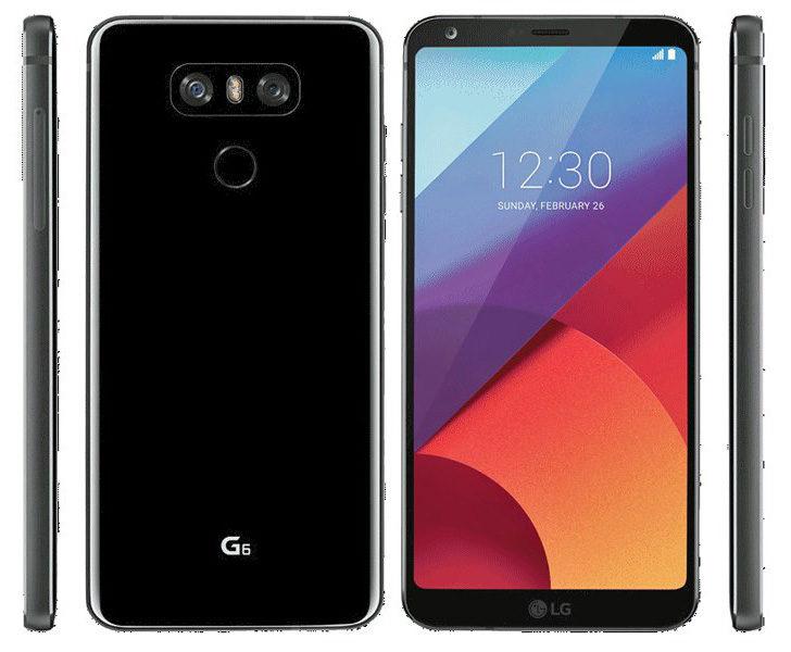 Press Renders of the LG G6 Leak Ahead of Announcement