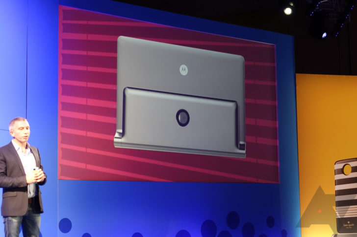 Motorola shows off some concepts for Moto Mods, including a