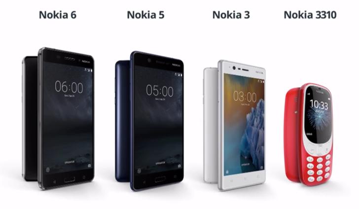Картинки по запросу Nokia 6, 5, and 3 presentation