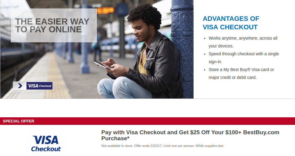 as many of you will recall around black fridaychristmas last year best buy ran a really sweet deal for visa checkout users on any purchase of 100 or - Best Buy Christmas Deals