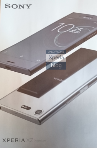 Sony Xperia XZ Premium Leaked, and it's Very Shiny