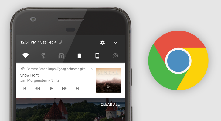 Chrome Beta 57 adds WebAssembly support, improved media