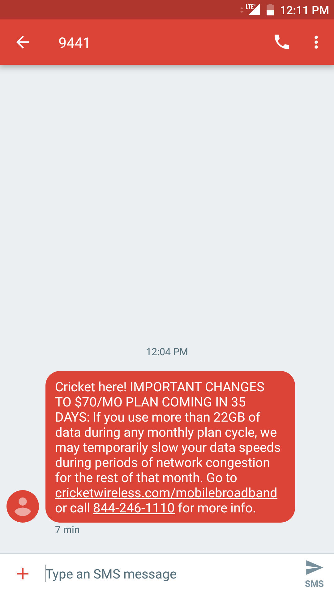 Cricket Wireless introduces Stream More forced standard def video