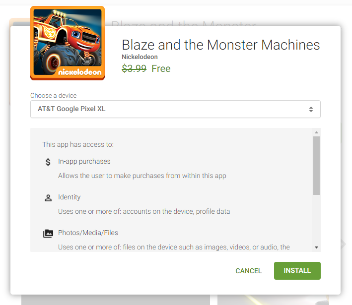 Play Store letting some app developers temporarily make