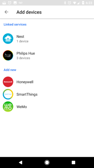 Google Home App Doesn T Have Home Control Option