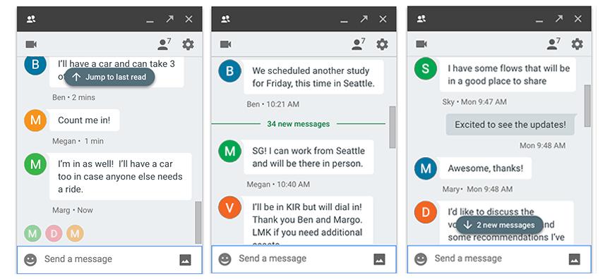 hangouts redesigns the unread message indicators apk download