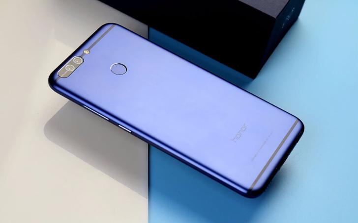 "Huawei's thin new Honor V9 sports a 5.7"" QHD display, a Kirin 960, Nougat, and a massive 4000mAh battery"