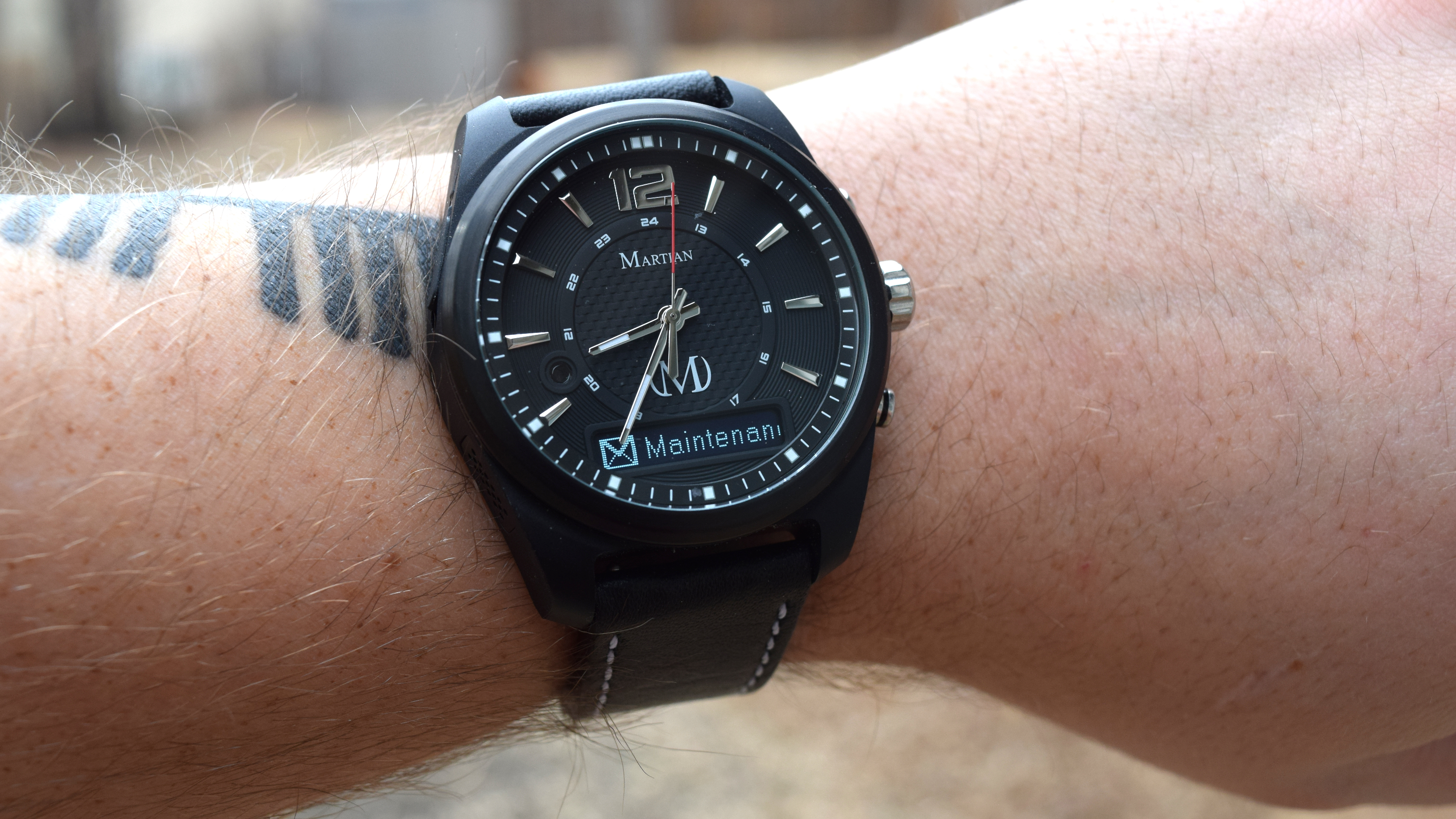Martian mVoice smartwatch review: Having all of the ...