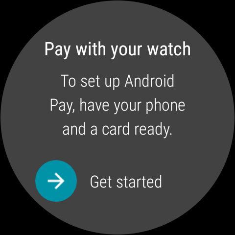 Android Pay for Android Wear is here, and this is how it works