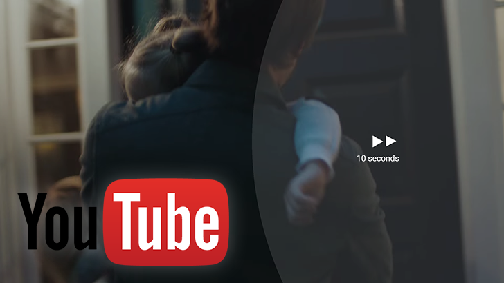 YouTube officially enables double-tap gesture to jump 10 seconds forward or backward
