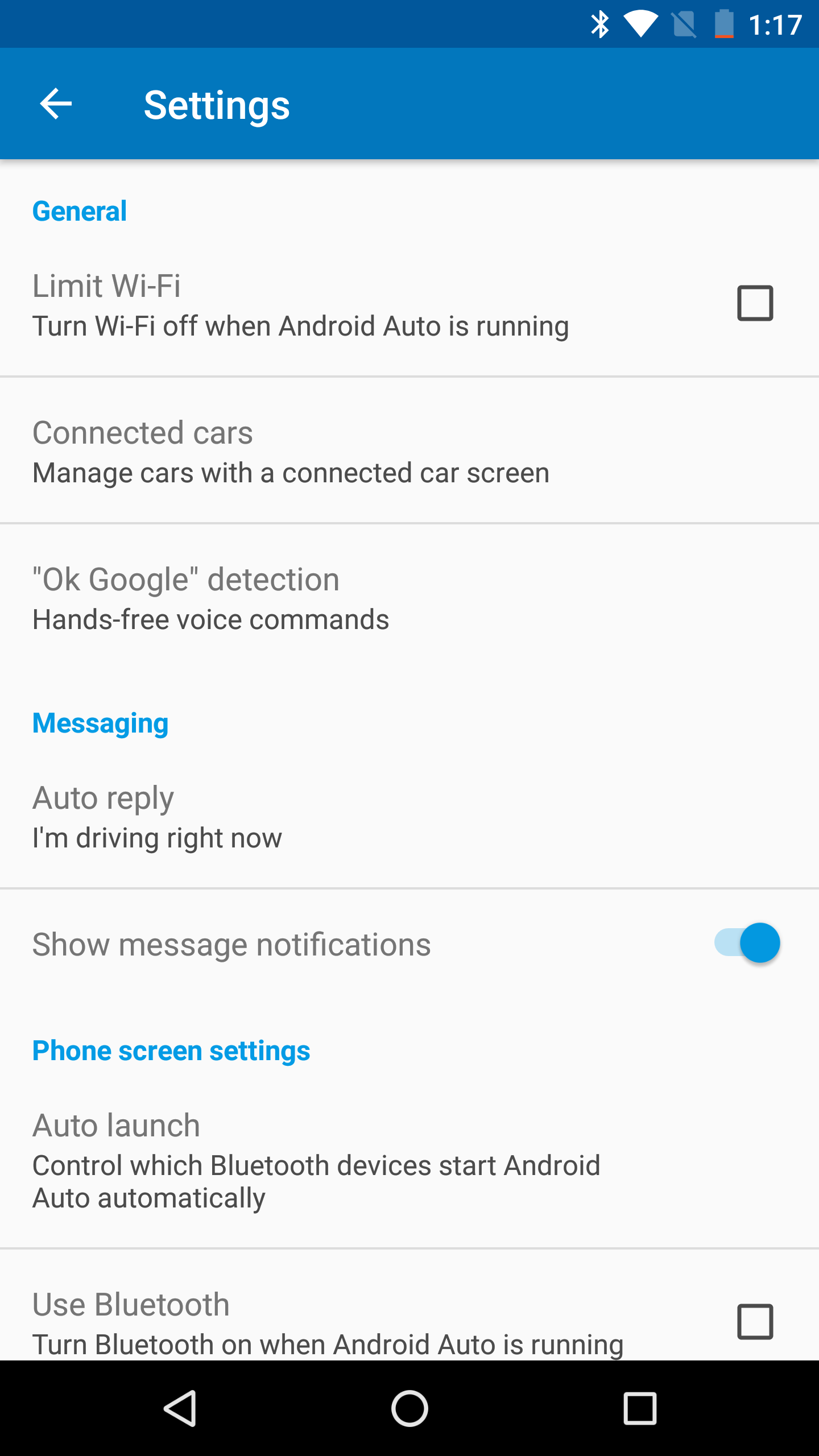 how to get rid of warnjng notifications android