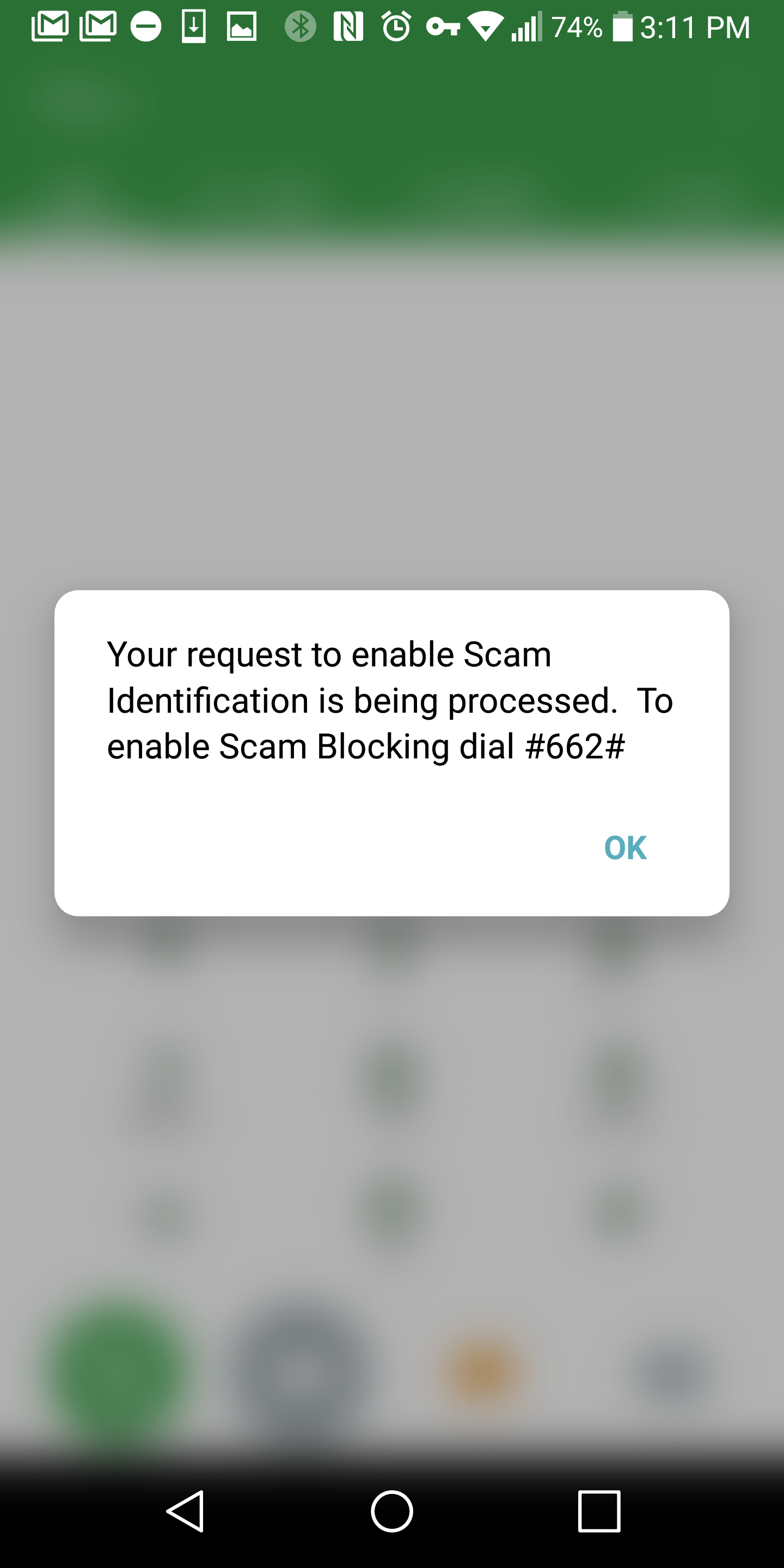 Tmobile's Spam Id And Blocking Is Live Use The Above Codes To Activate It  Or Check Your Status I've Tested It Successfully On My Line,