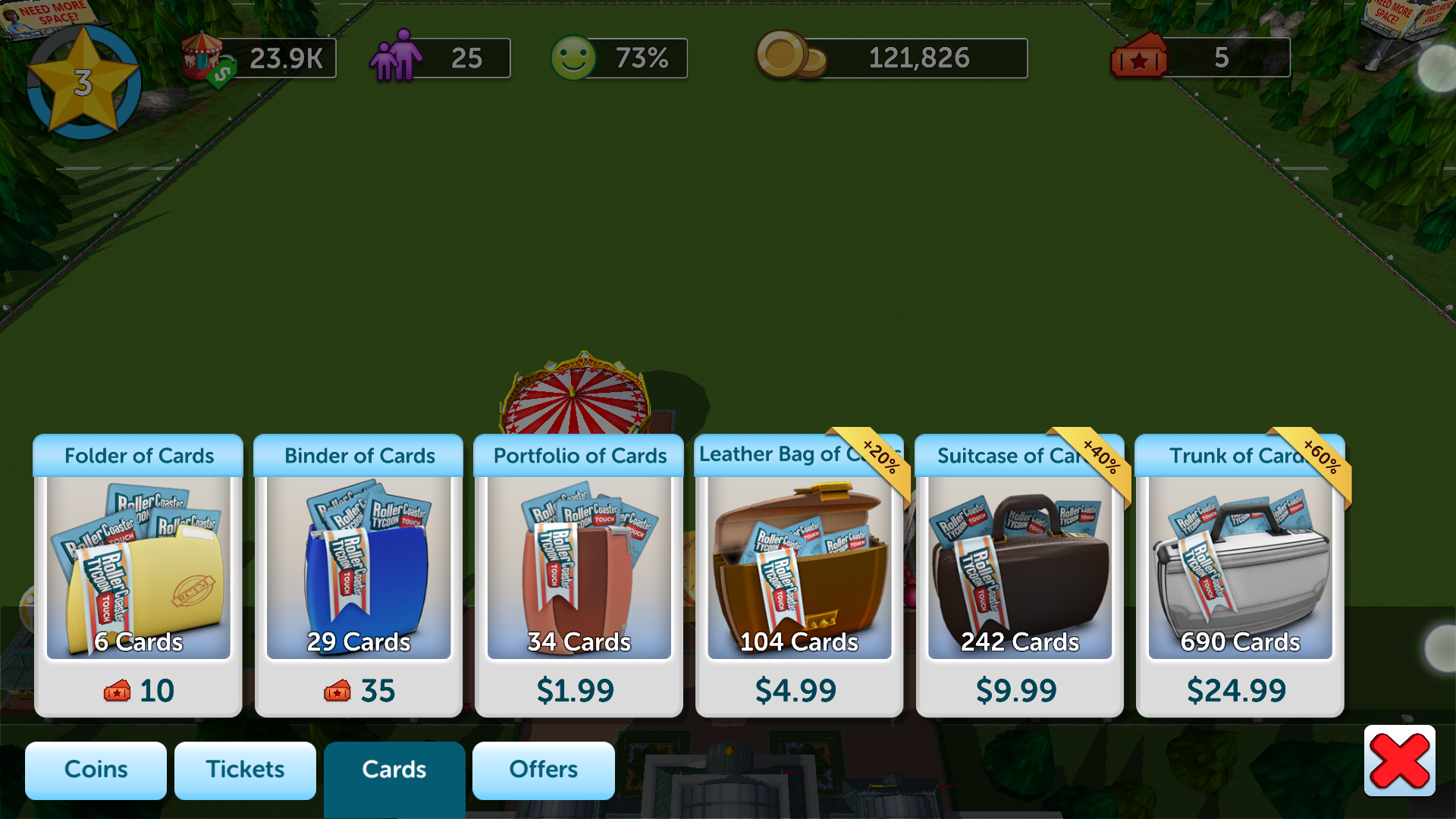 Rollercoaster Tycoon 4 Apk