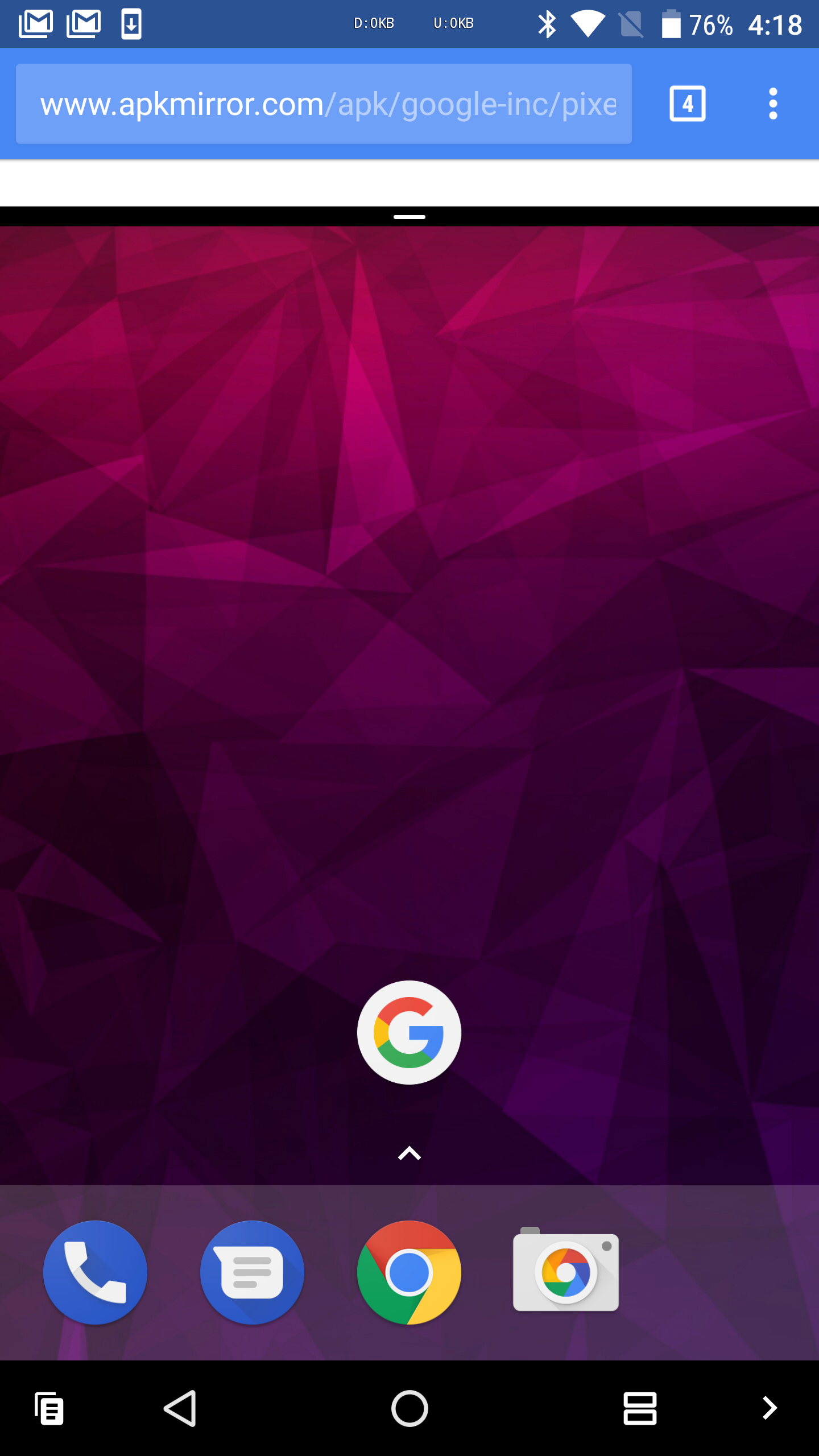 with the o developer preview google has improved multi window by enabling users to maintain a view of the app theyve minimized when they head into the