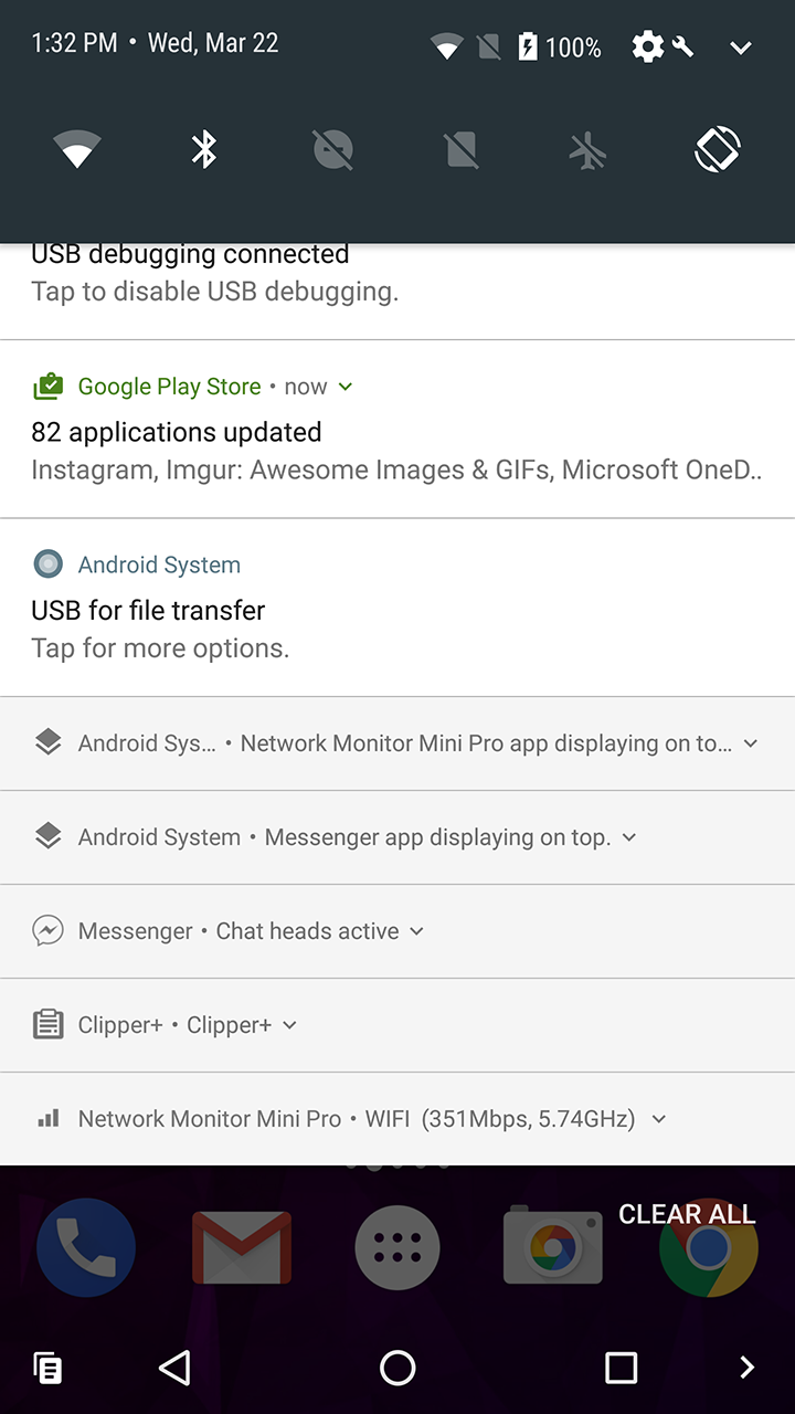 Update: Any notification can be compacted] Android O feature