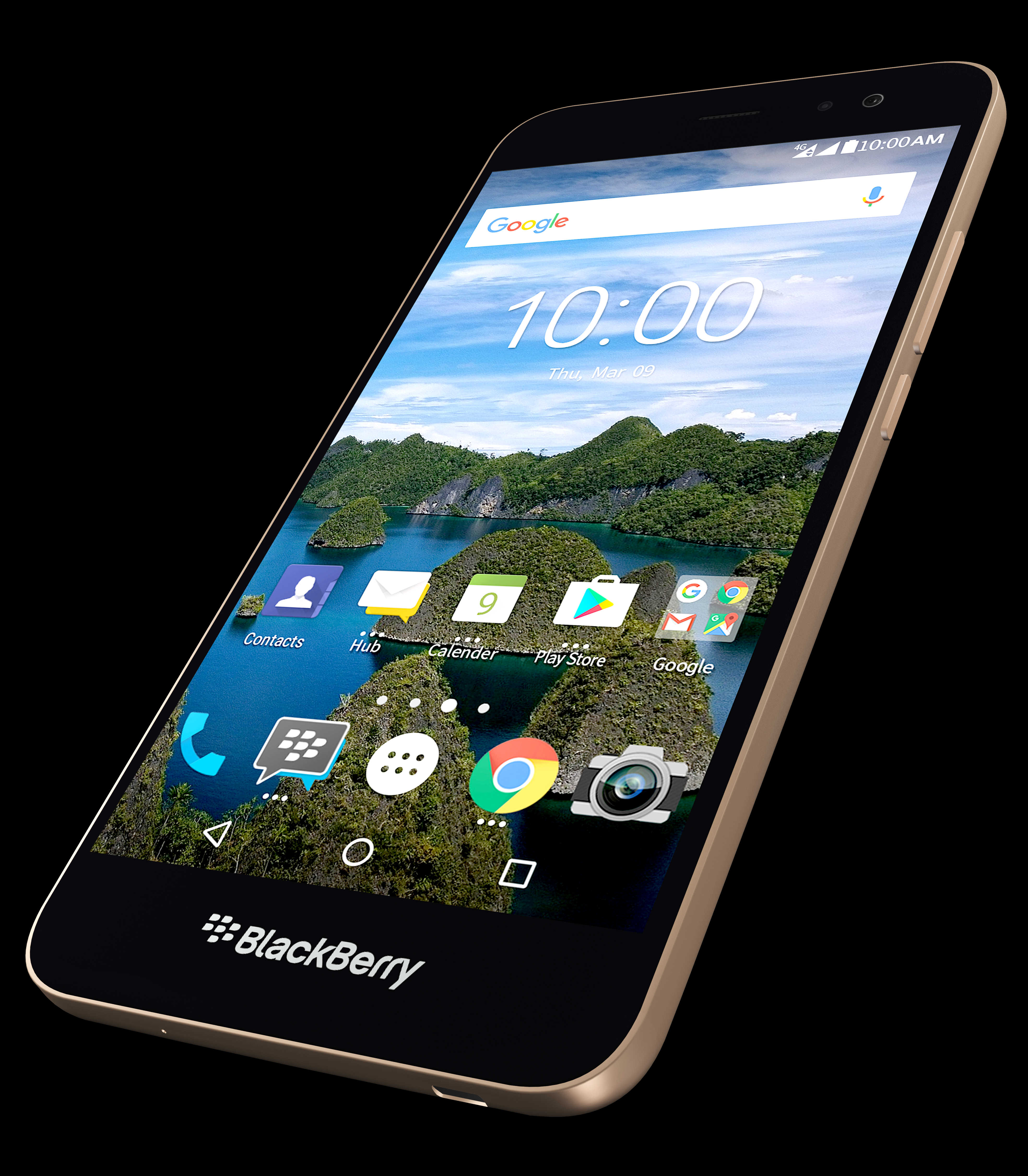 BlackBerry announces the Aurora smartphone in Indonesia
