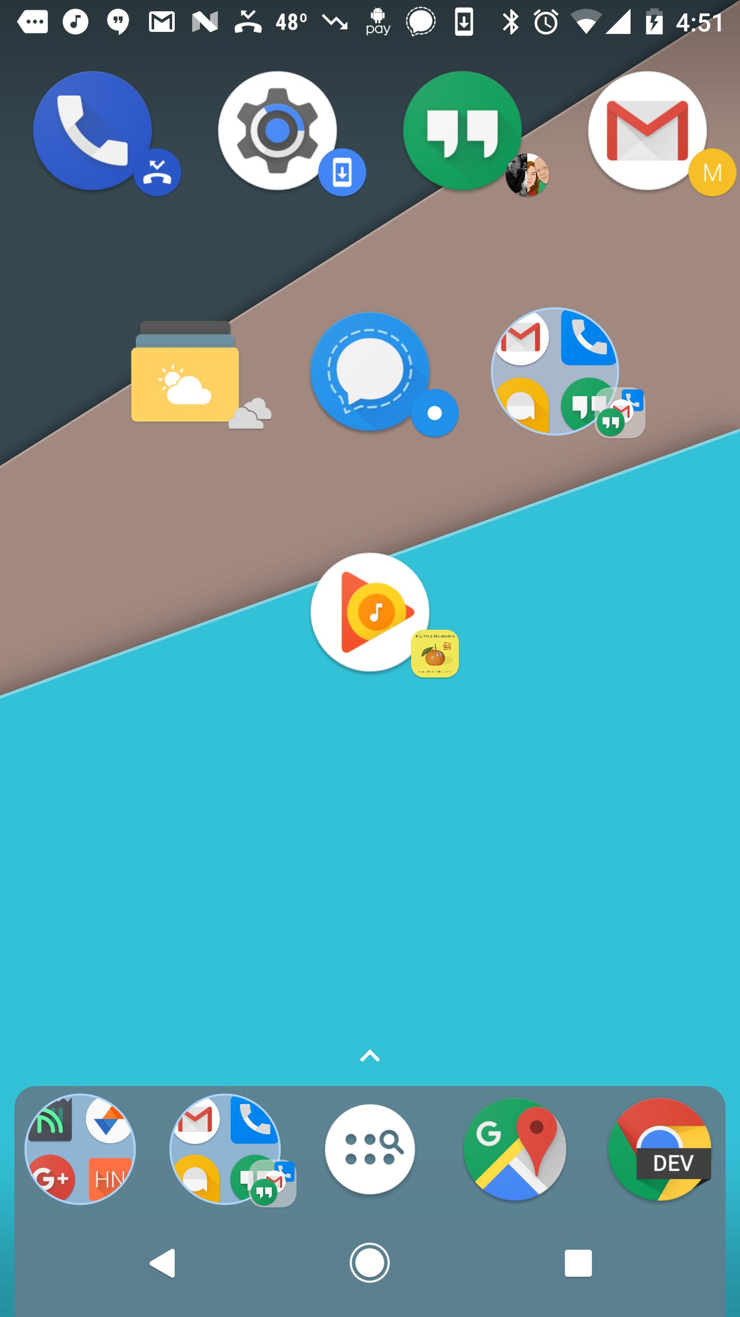 nova launcher 5 1 beta adds u0027dynamic icons u0027 that pull badges from