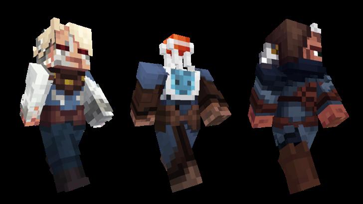 Minecraft Pocket Edition Adds New Strangers Skins Villager Trading