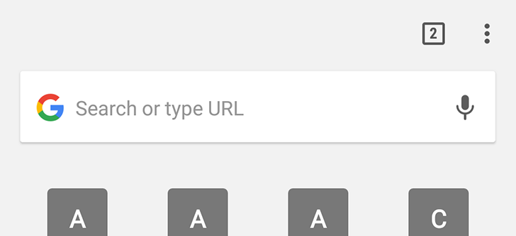 Chrome Dev 59 changes the New Tab Page yet again [APK Download]