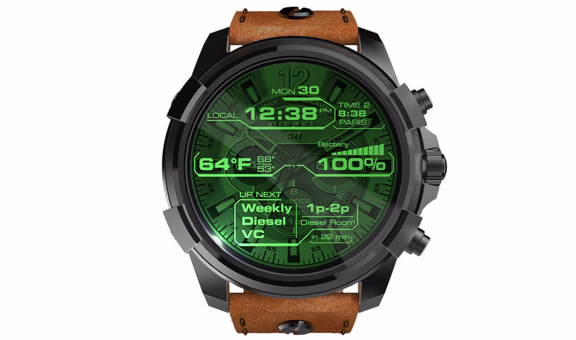 af6a1fe43b3c Fossil flooded the Android Wear world with announcements back in March at  Baselworld 17 and the Diesel On was one of these.