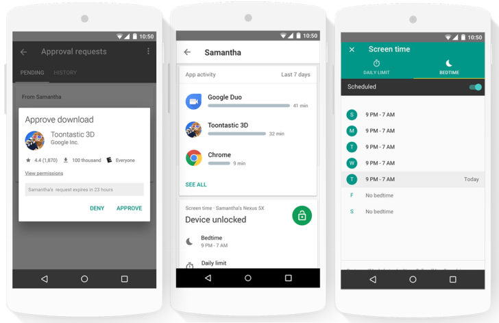 Google's new Family Link app invites live