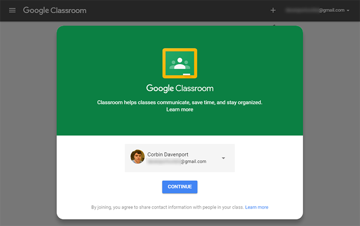 Google Classroom now available for personal Google accounts