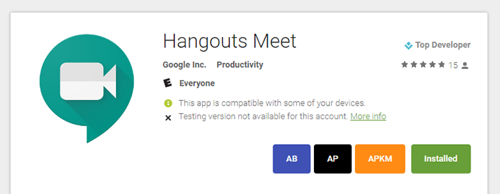 Hangouts Meet app is out for Android [APK Download]