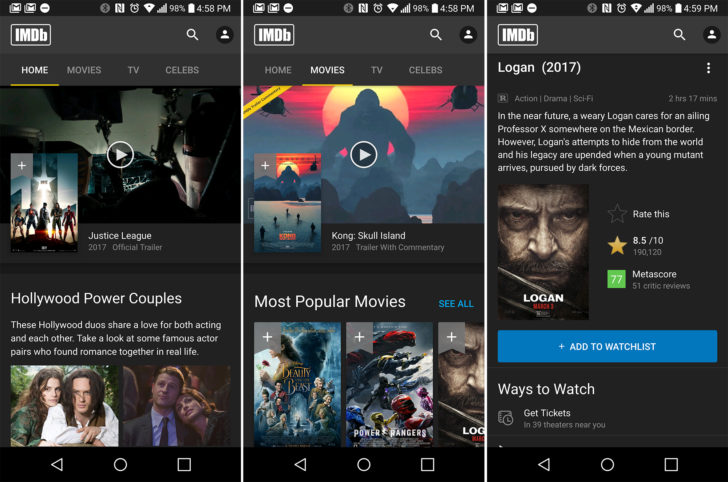 IMDb App Updated to V7.0 with a Complete UI Revamp [APK Download]
