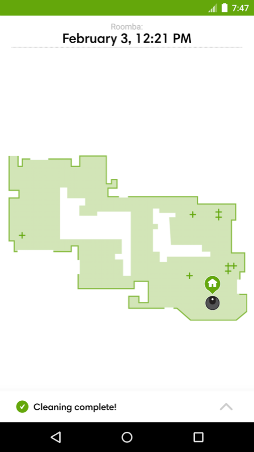 irobots roomba robot vacuum adds clean map reports and