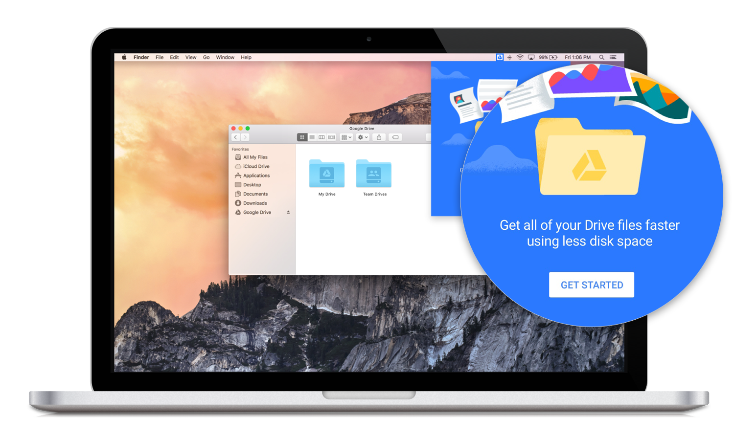Drive File Stream for G Suite lets you access all your files