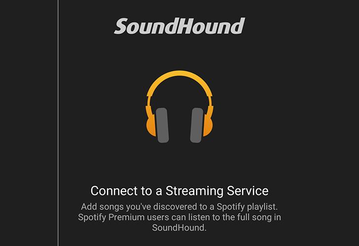 SoundHound integrates full Spotify playlists (LiveLyrics