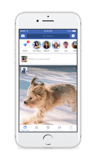The Facebook App Continues to Grow in Size with a New Effects-laden Camera and Stories