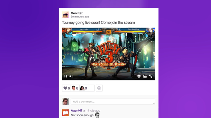 Twitch reveals Pulse, its Twitter clone for game streamers
